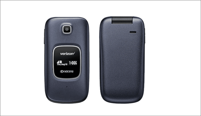 Verizon Kyocera Cadence LTE phones for seniors and elderly