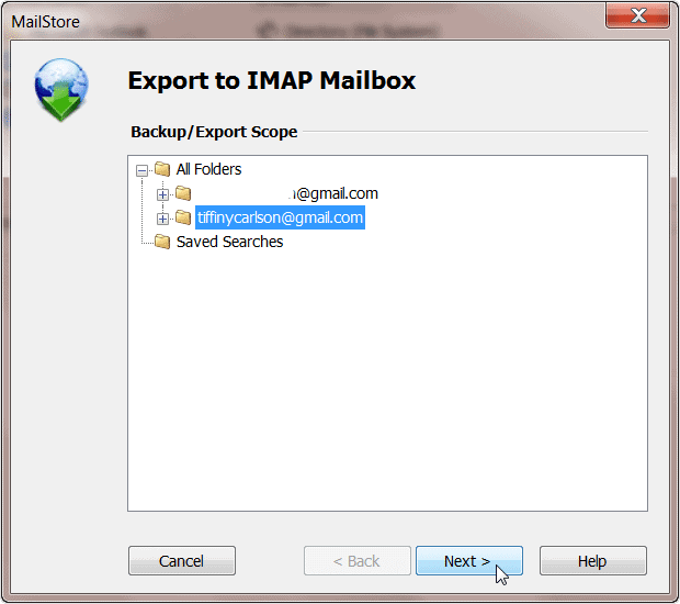 exporting-window-in-mailstore-home