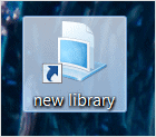 icon-on-desktop-for-new-library