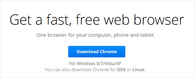 download-chrome-page