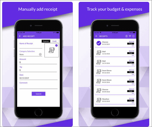 123 receipt expense tracker