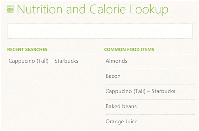 nutrition-calories-lookup-health-fitness-windows-8.1