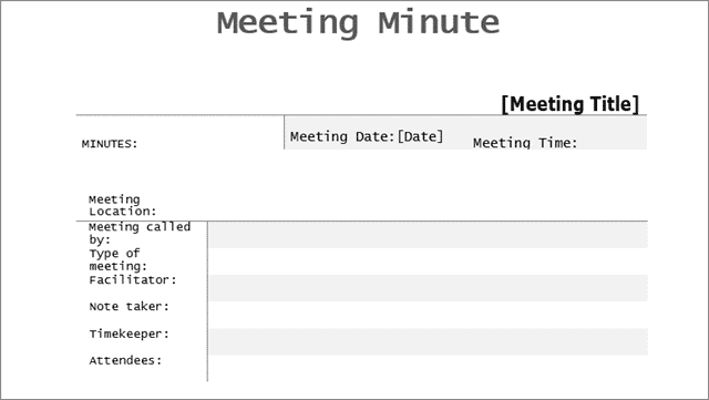 apologies meeting minutes