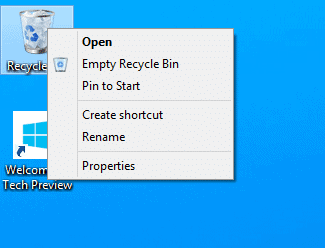 recycle-bin-pin-to-start