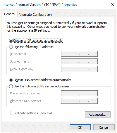 Verify your DNS settings