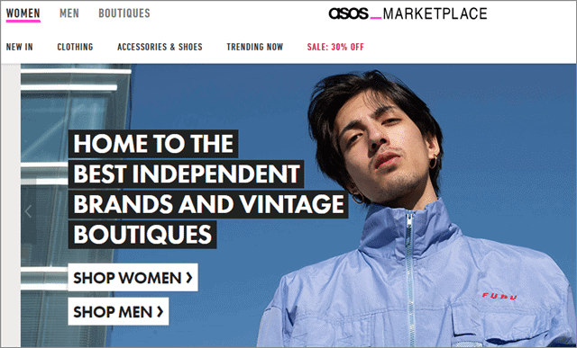 3 asos marketplace second hand stores
