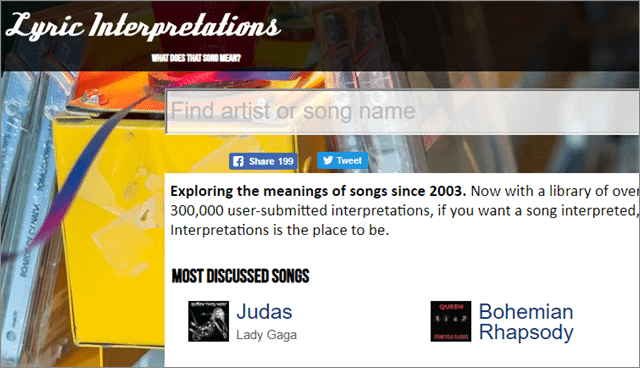 lyrical interpretations for songs with meaning
