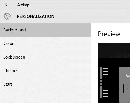 personalization-settings