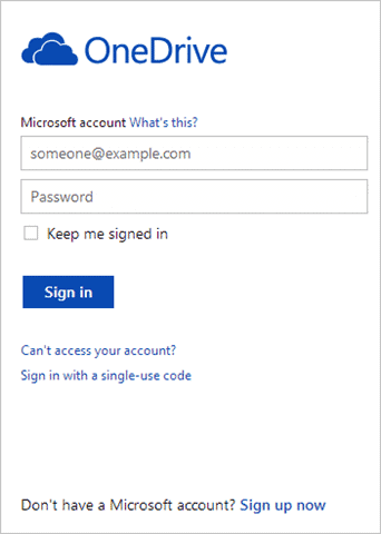 onedrive-sign-in
