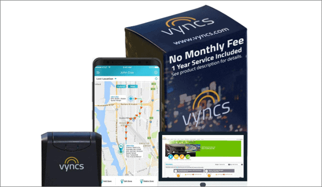 3 vyncs gps tracking device