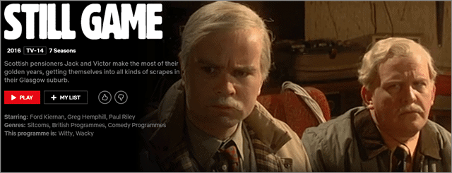 still game bbc detective series