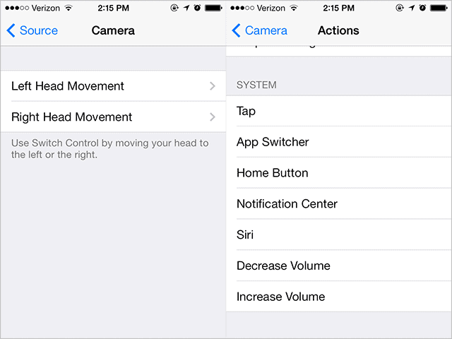 Control-iOS-7-with-head-movements