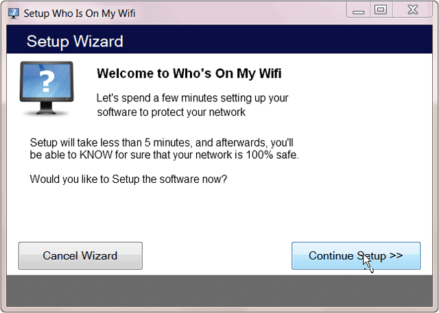 setup-wizard-for-who-is-on-my-wifi