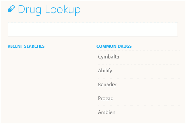 drug-lookup-health-fitness-windows-8.1