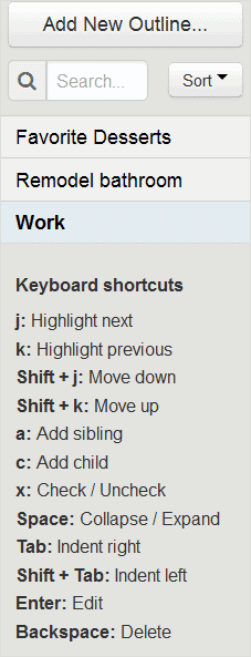 viewing-your-lists-in-keyboard-shortcuts