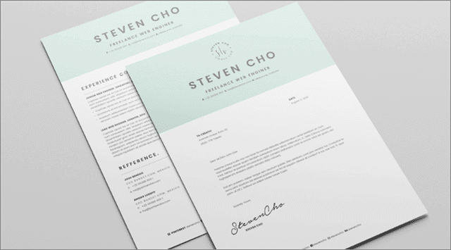 Cool Free Indesign resumes