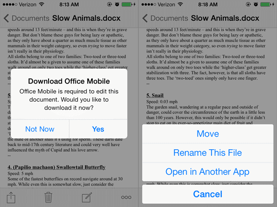SkyDrive for iOS Relased, Boasts of Camera Backup Feature Like Dropbox