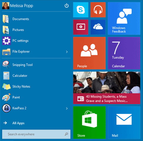 windows-10-start-menu-in-use
