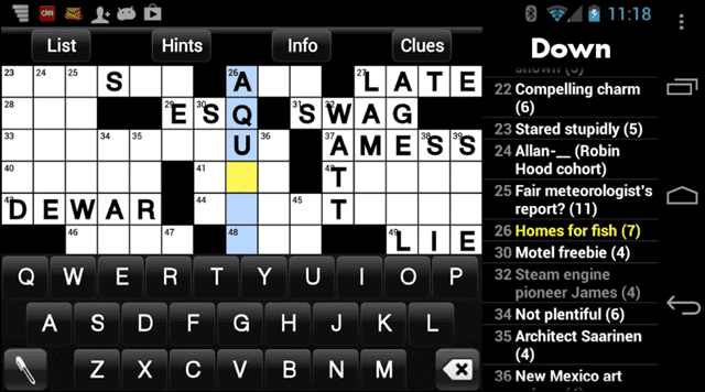 4 best crossword puzzles android 1