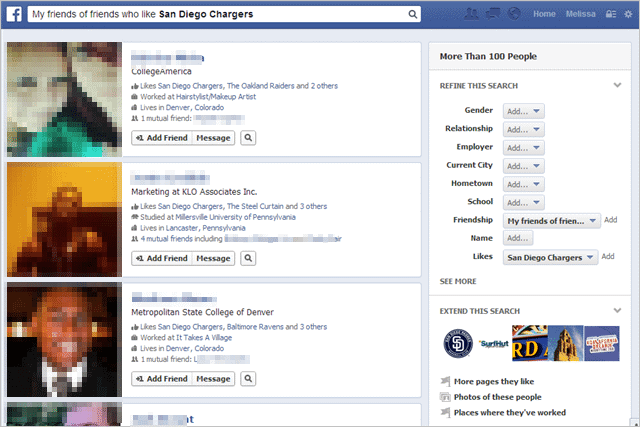 Use Facebook Graph Search to Find Just About Anything