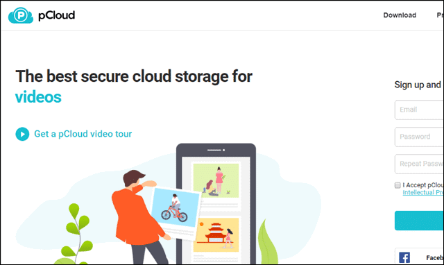 pcloud most secure cloud storage