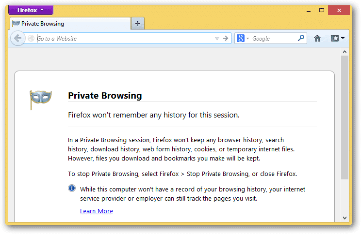 using-private-browsing