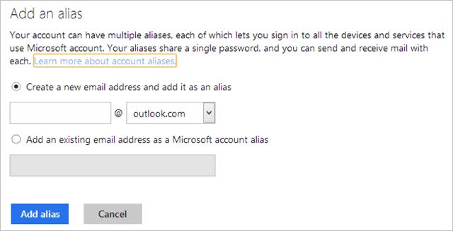 add-alias-microsoft-account