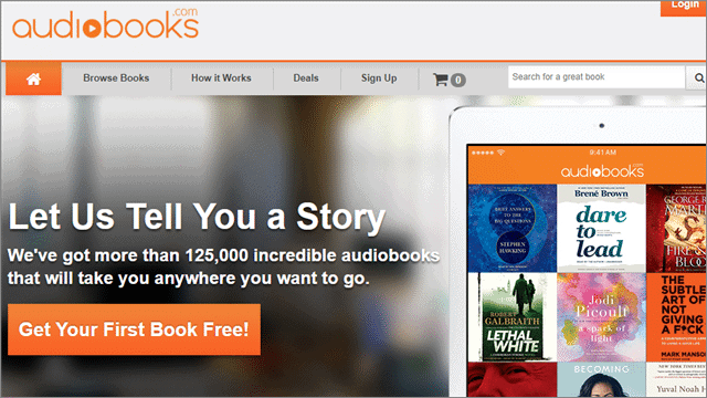 5 audiobooks