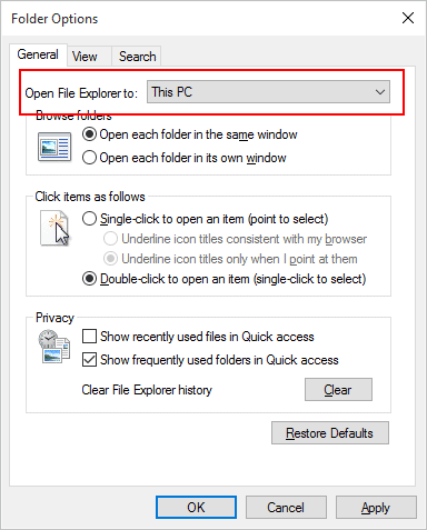 quick-access-folder-options-general