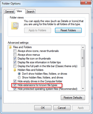 setting-folder-options