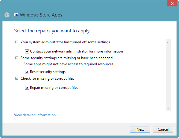 issued-detected-app-troubleshooter-windows-8