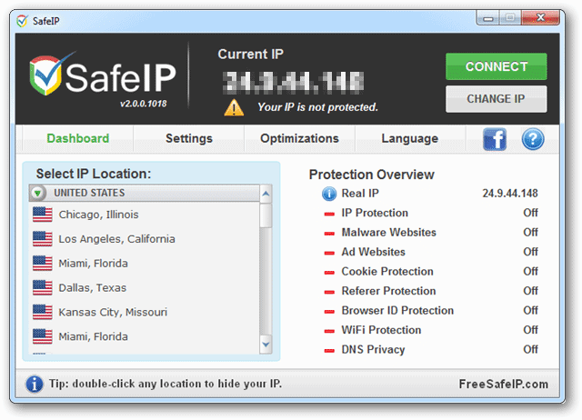 How to Use SafeIP to Hide Your IP Address