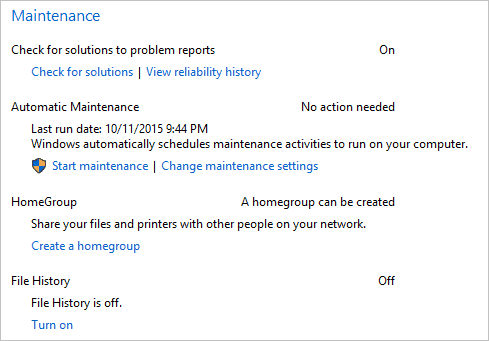 additional-automatic-maintenance-settings