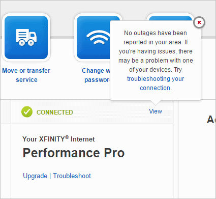 Looking for issues with your ISP