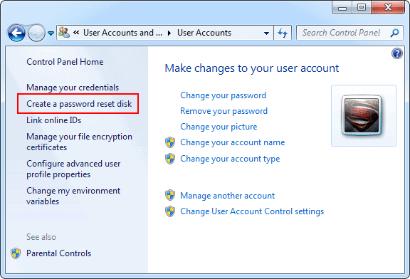 open-user-account-windows