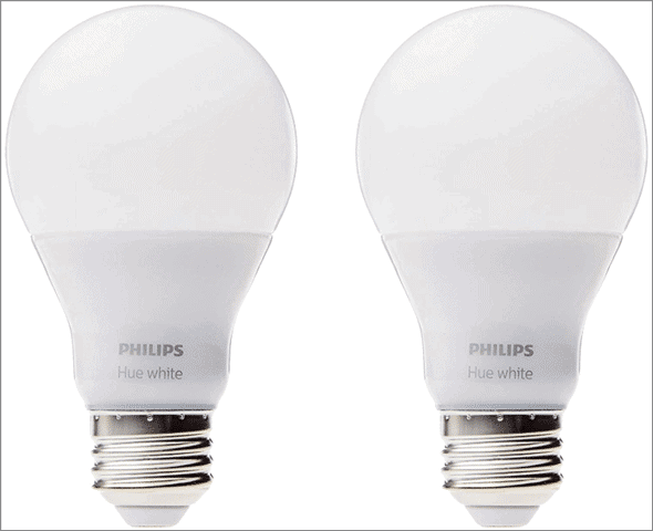 White A19 60W Bulb (pack of 2)