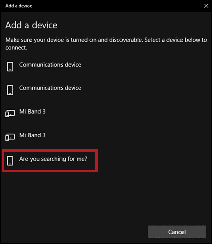 pair device to bluetooth enable bluetooth windows 10