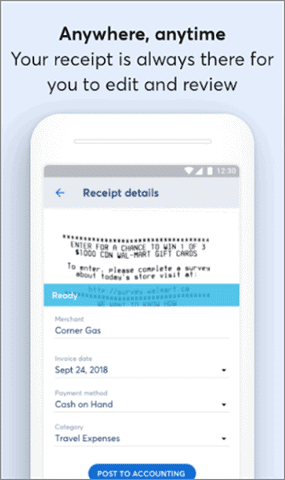 receipts by wave best receipt scanner app