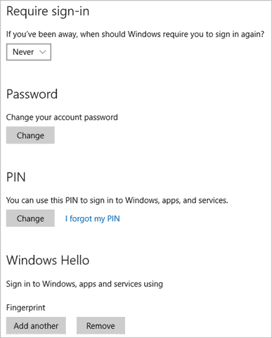 How to set up two step authentication in windows 10 if youre using windows 10 you should consider setting up and giving biometrically authentication a try to login to windows windows hello as its called ccuart Images