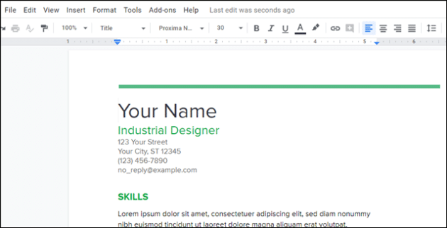 Create Professional Looking Resume With Google Docs 3 Bonus Options