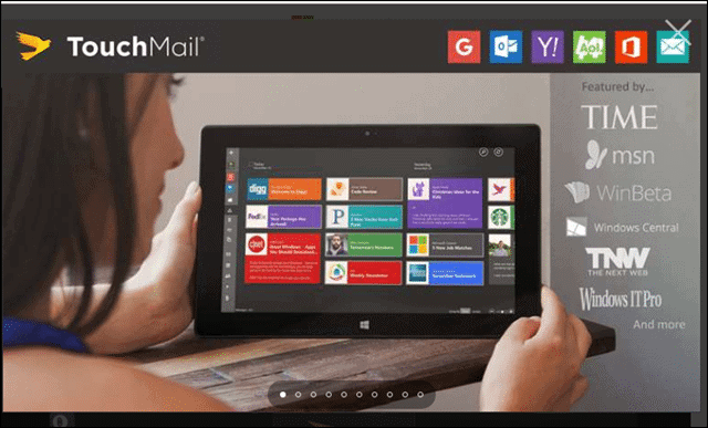 touchmail best gmail app for Windows 10