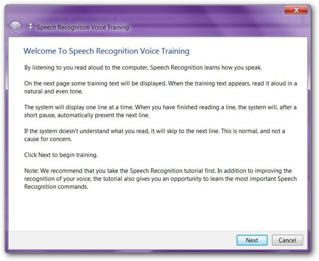 speech-recognition-voice-training