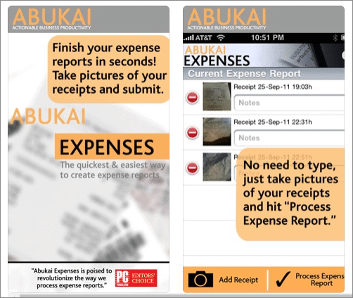 abukai expense scan receipts
