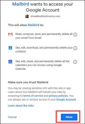 give-access-to-Google-mailbird