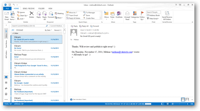 viewing-the-new-outlook-inbox