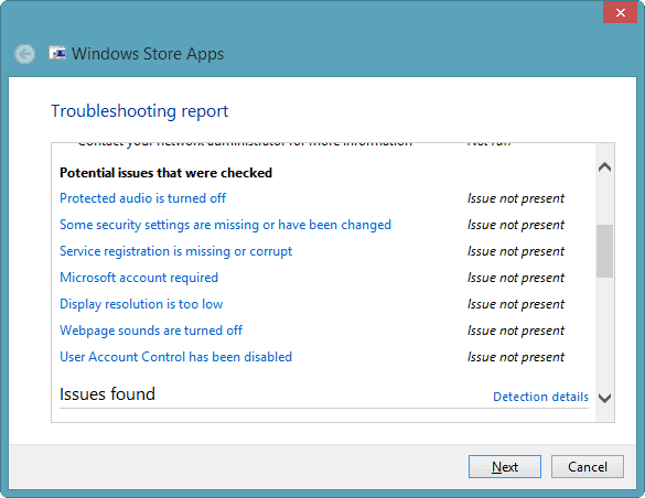 issues-checked-app-troubleshooter-windows-8