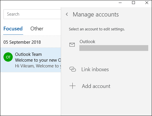 select account close outlook account