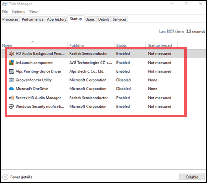 7 task manager disable windows 10 critical error fix