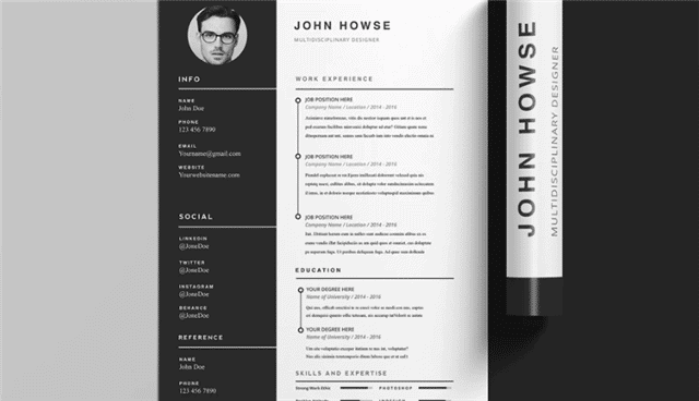 clean adobe indesign templates
