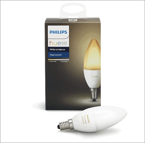 Philips Hue White Ambiance E12 Decorative Candle